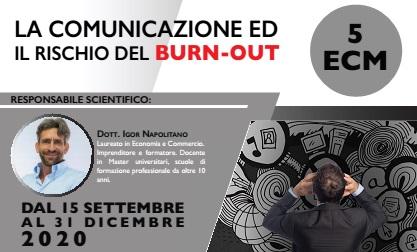 Corso FAD – La comunicazione ed il rischio del Burn-Out